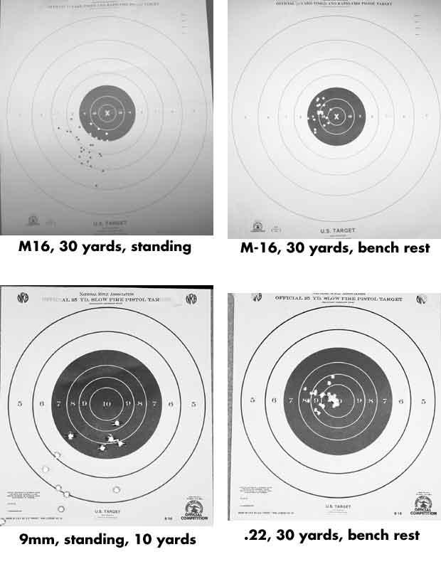 pistol targets obama